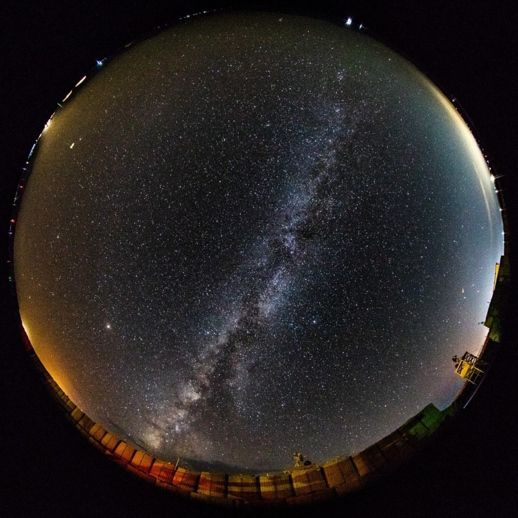 Fisheye Milky Way
