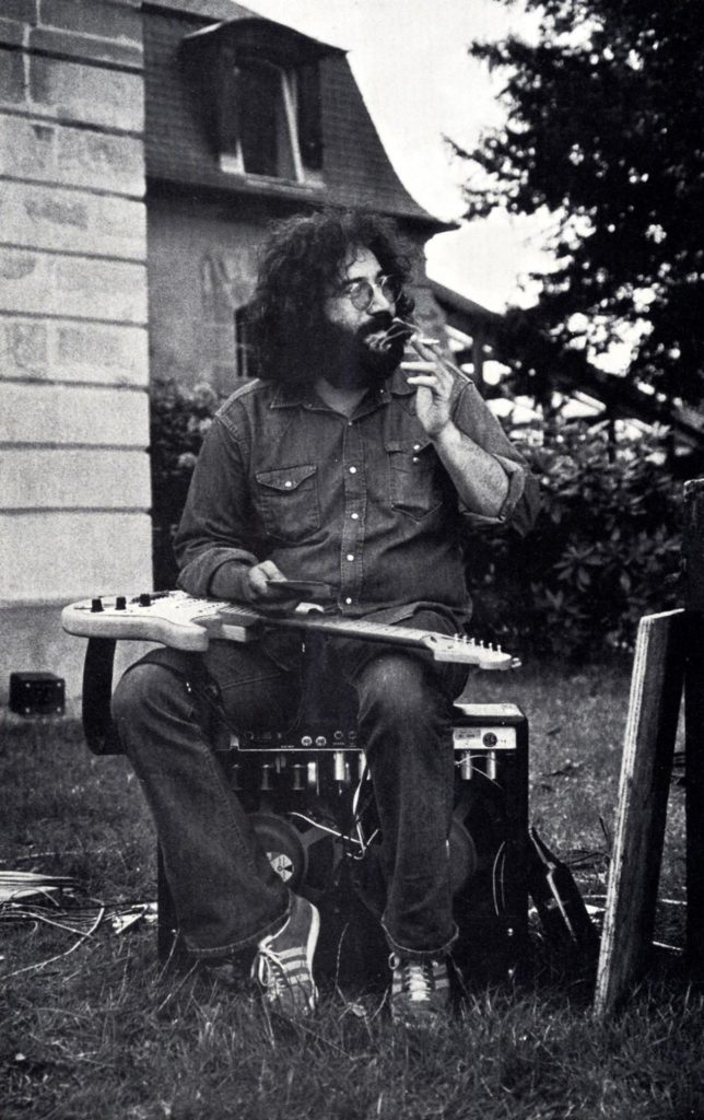 Jerry Garcia in France