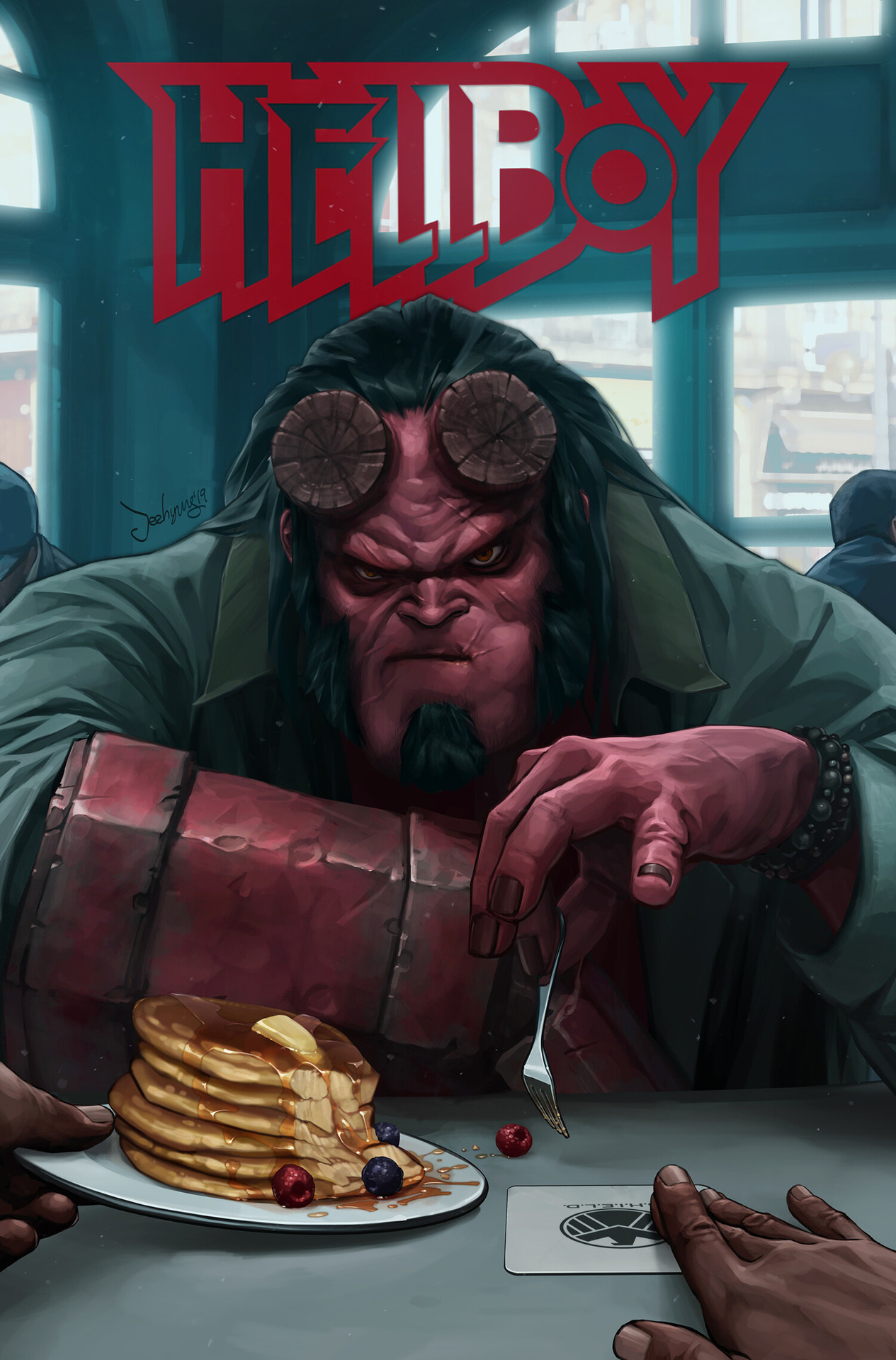 Hellboy by JeeHyung lee
