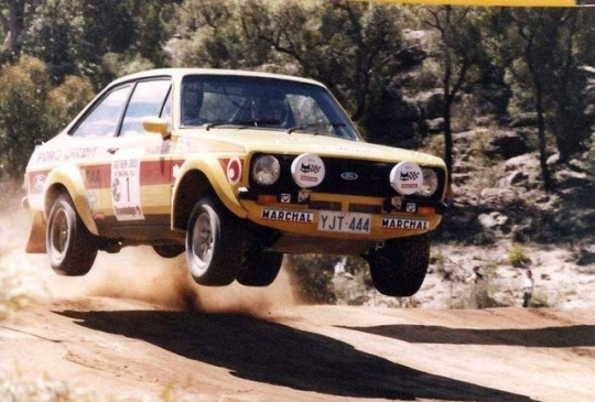 Ford Escort Rally Team - Australia