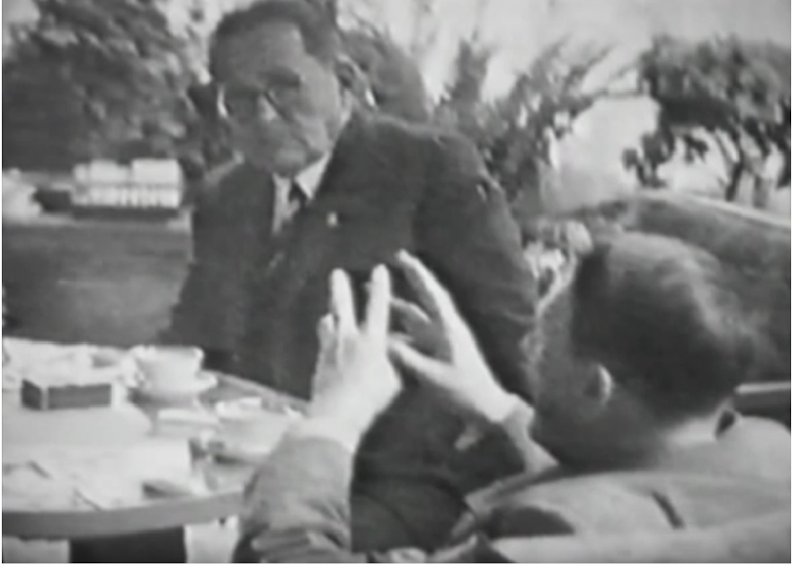 Hitler at the Eden in 1947