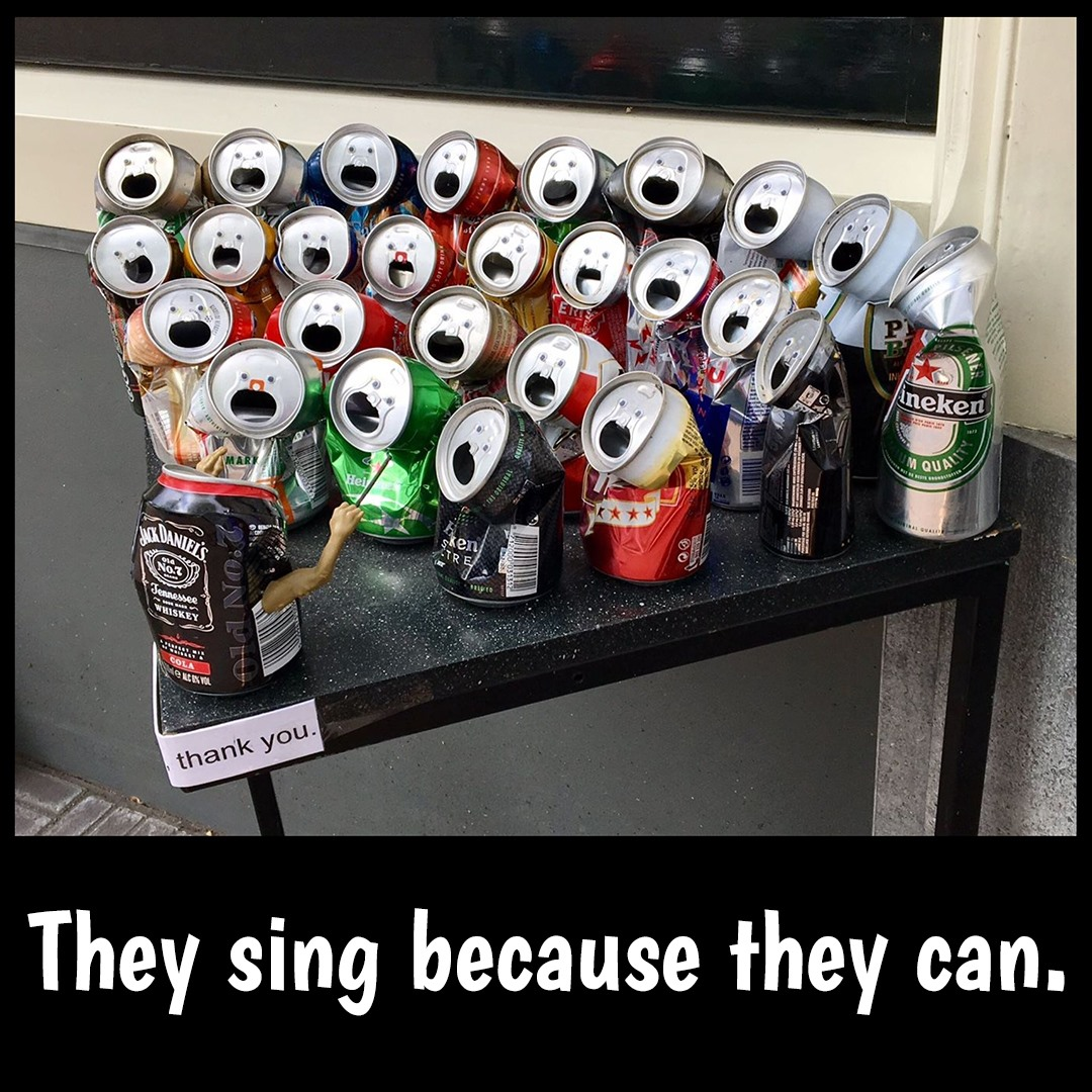 they can sing