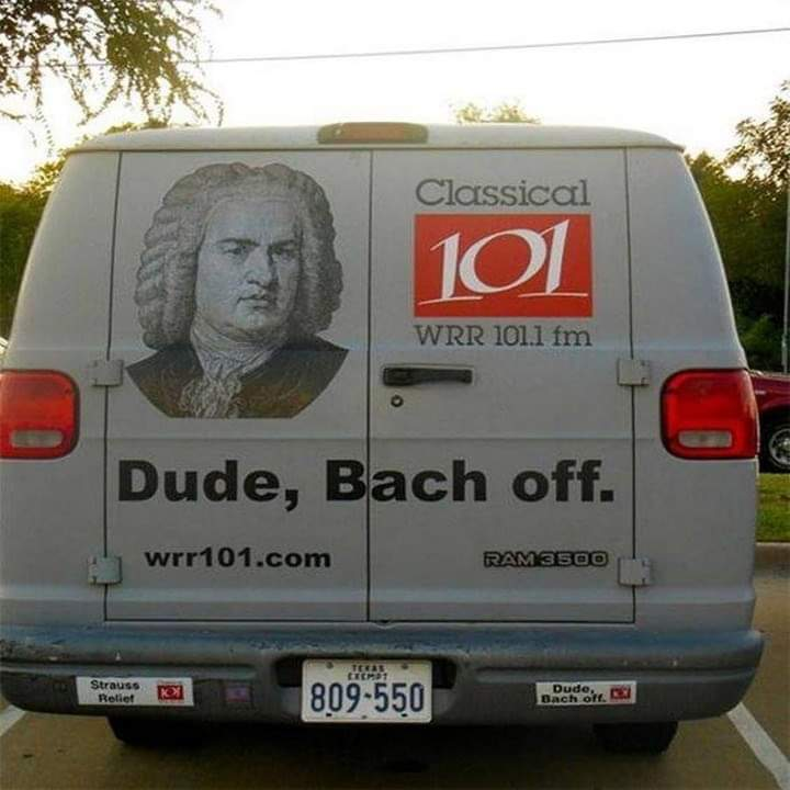 dude bach off
