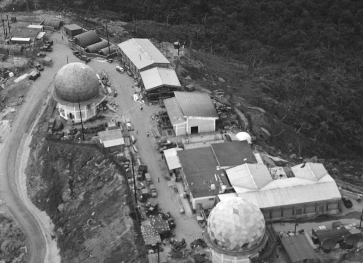 Monkey Mountain SIGINT facility in Vietnam