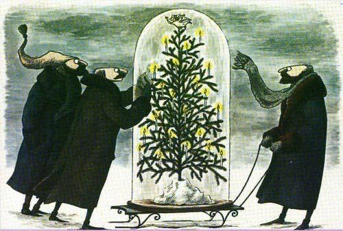 Christmas Under Glass, Edward Gorey