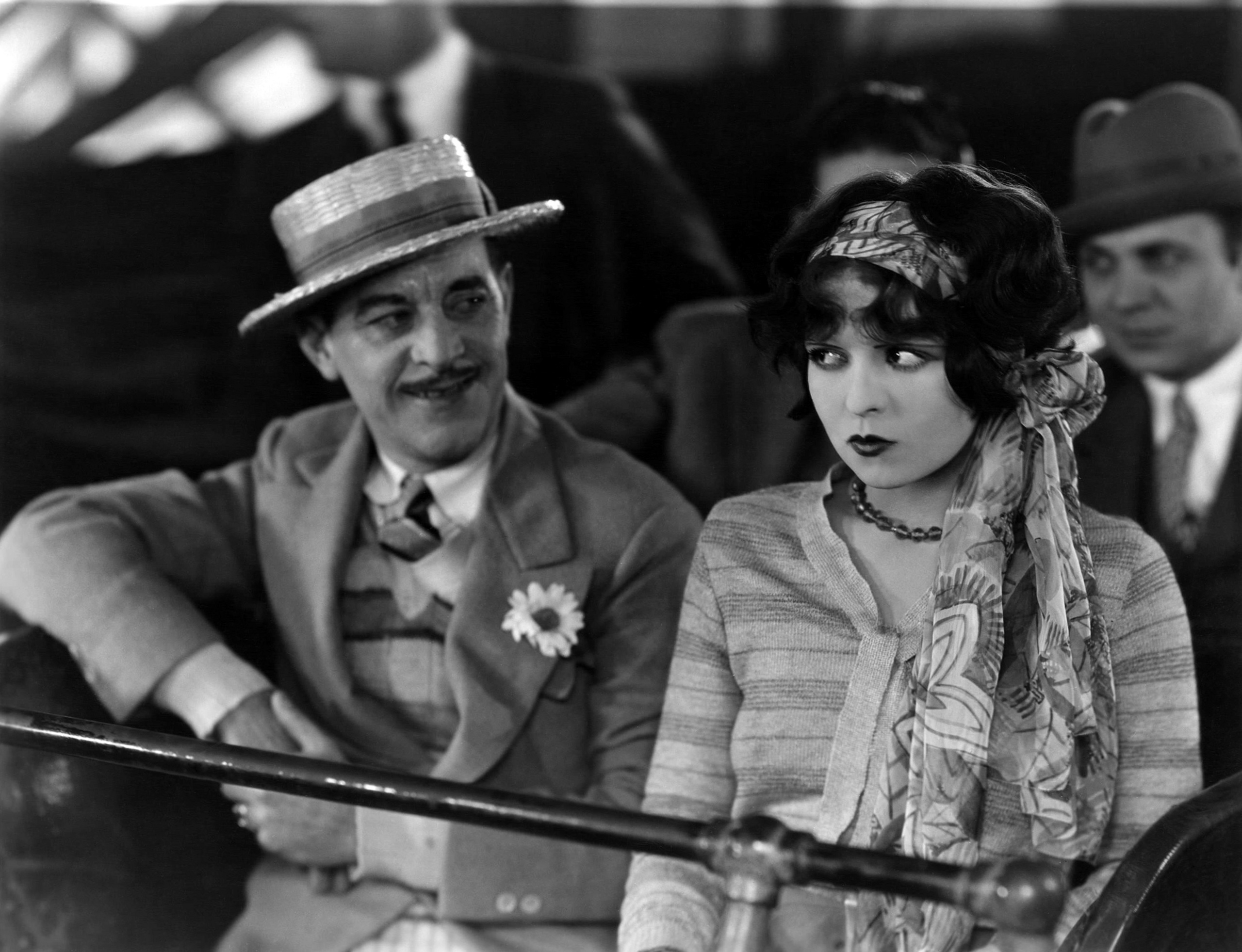 Clara Bow with Reed Howes