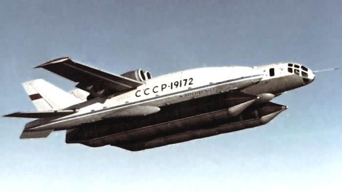 The Bartini Beriev VVA-14 Vertikal`no-Vzletayuschaya Amphibia