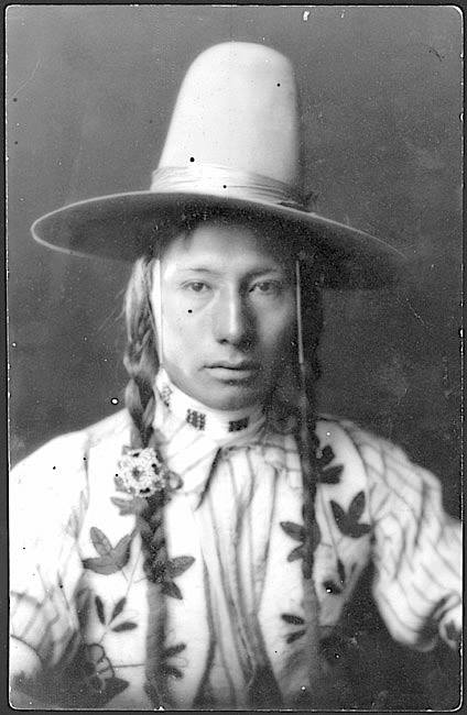 Big Knife. ChippewaCree. Rocky Boy Reservation. Montana. 1909. Source - Montana State University Library