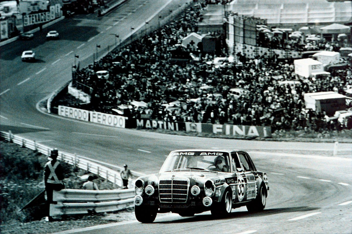 Mercedes 300 SEL 6.8 at the 1971 24 Hours of Spa