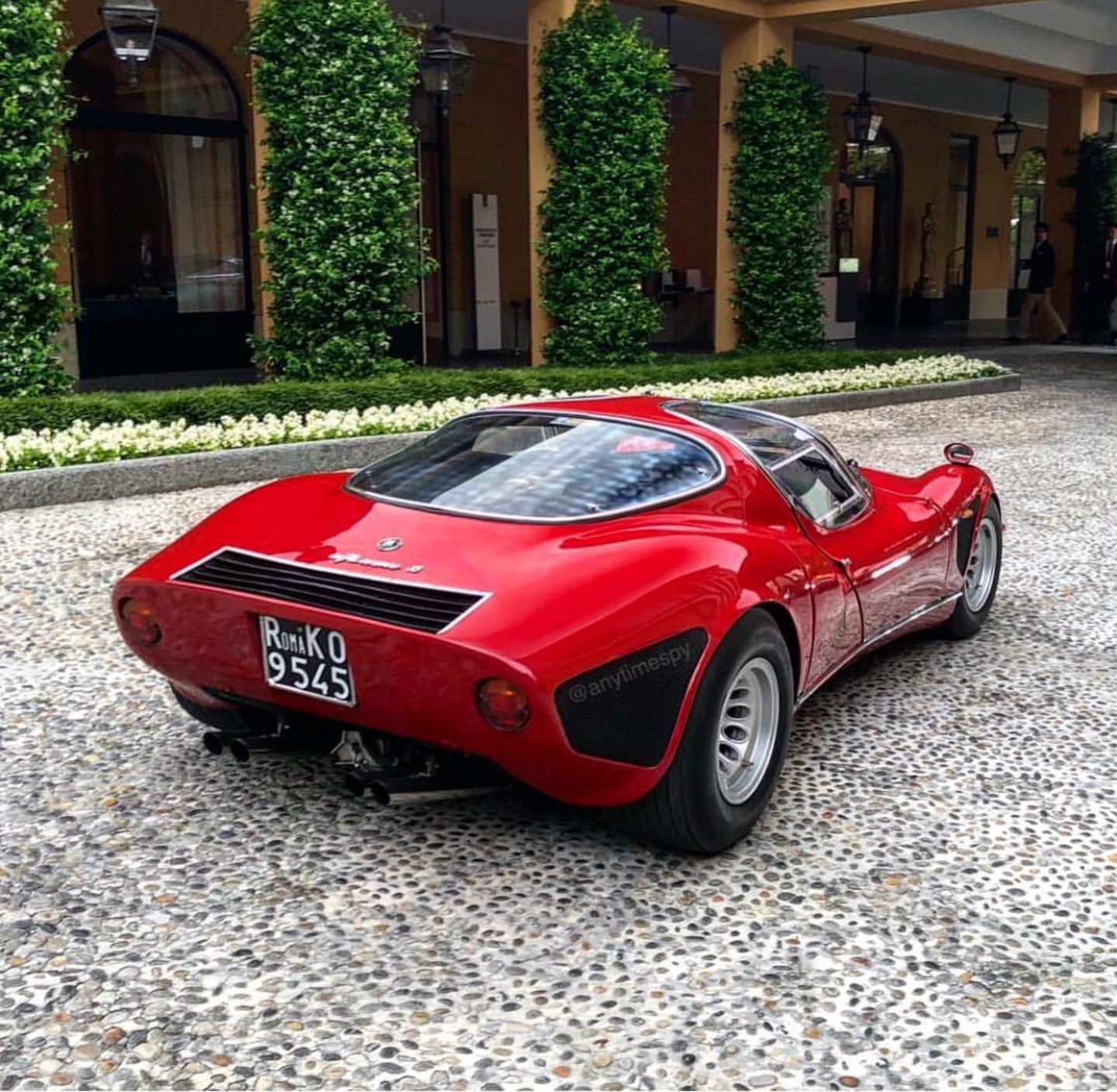 Alfa 33 Stradale by @anytimespy