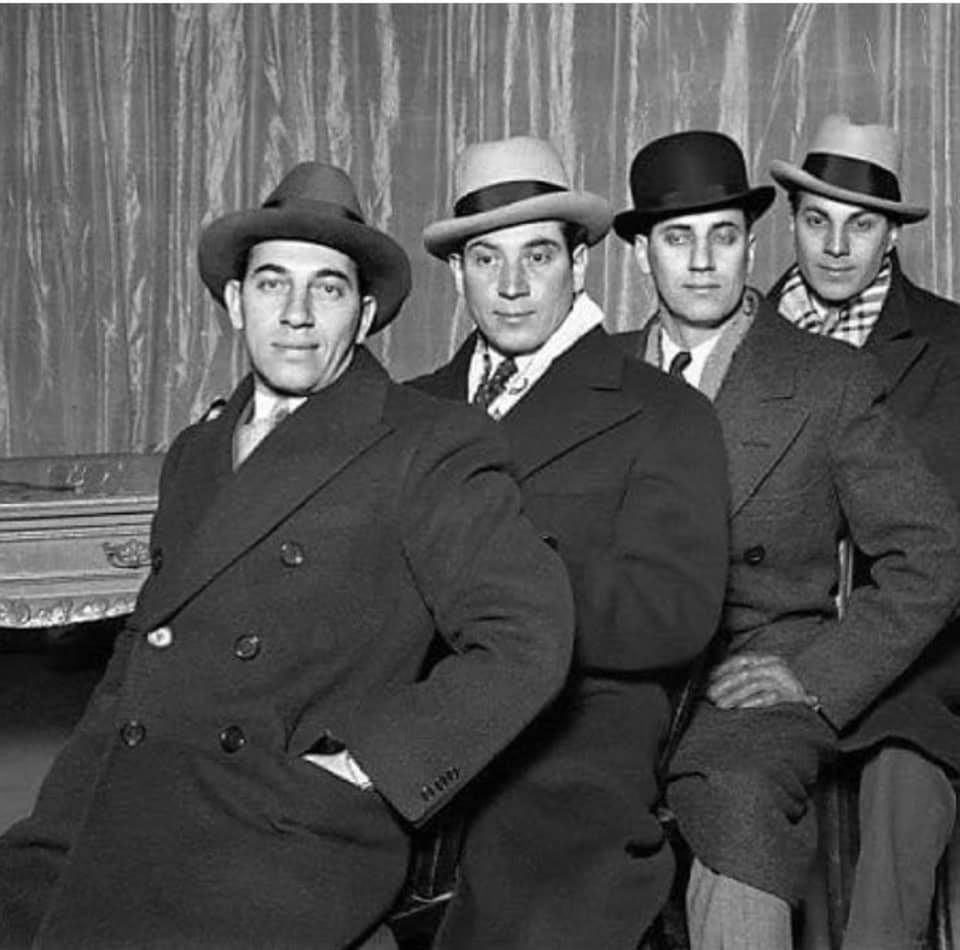 Chico, Harpo, Groucho, Zeppo