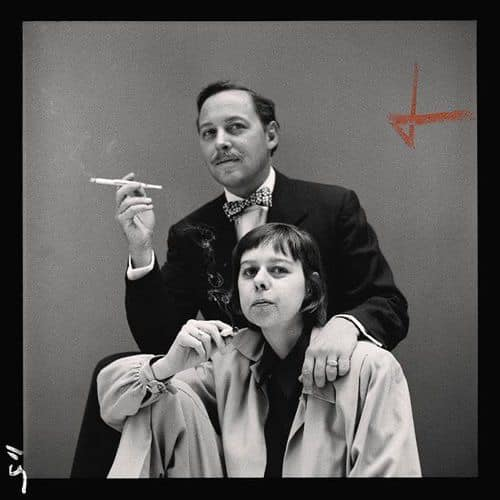 Tennessee Williams and Carson McCullers. Photograph by Richard Avedon