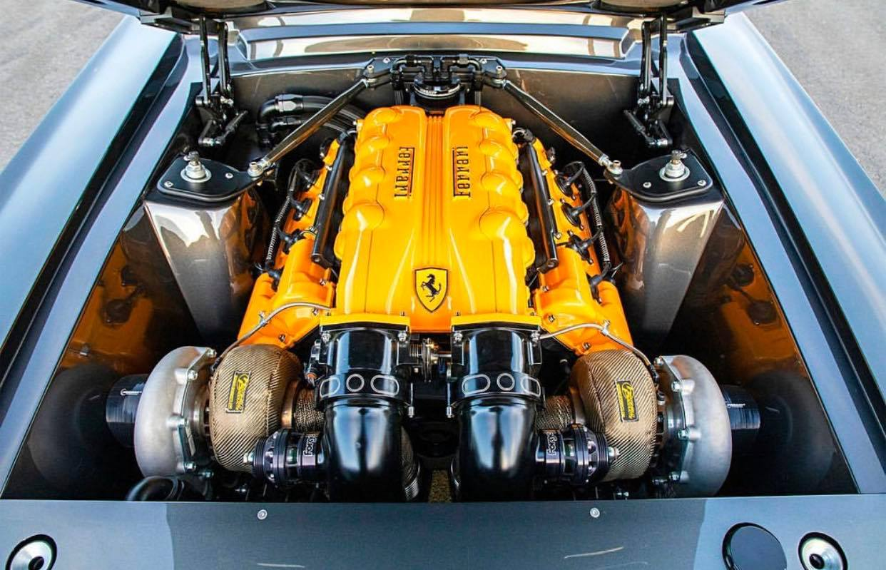 Ferrari powered Mustang