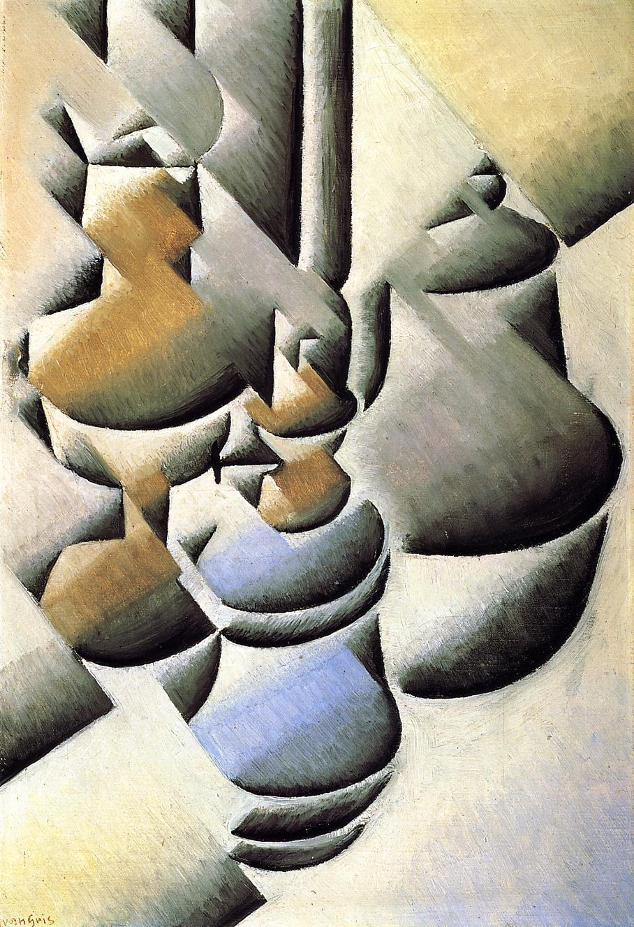 Still Life with Oil Lamp, 1912