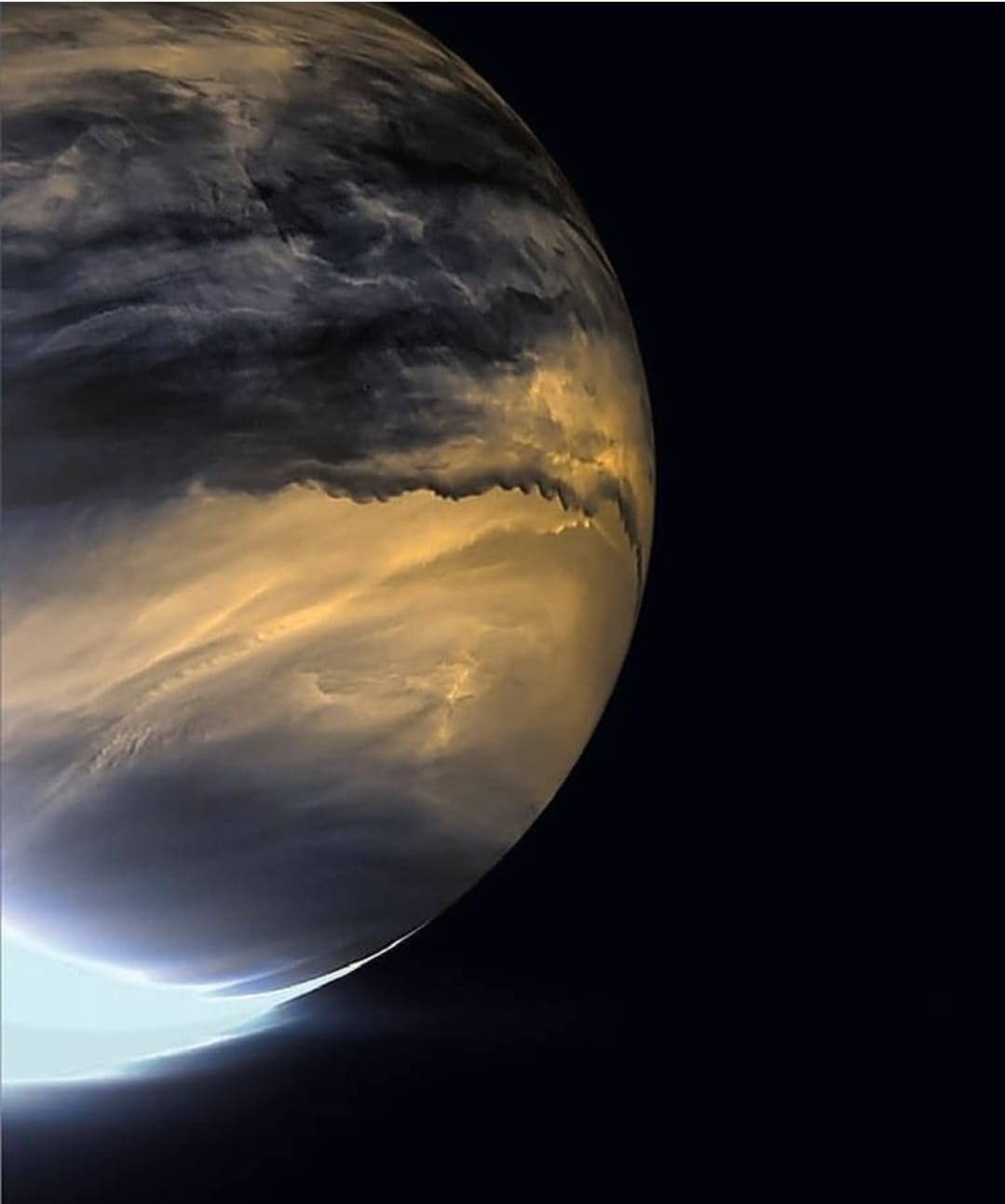 venus in ir and uv
