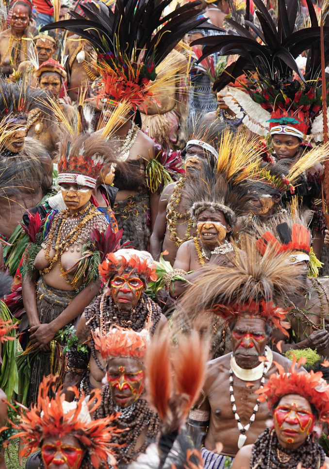 Papua New Guinea natives