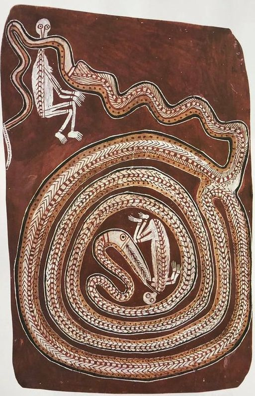 Yirawala Aboriginal Bark painting