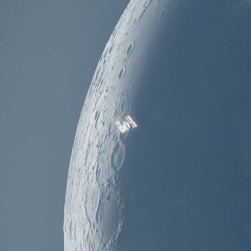 iss moon