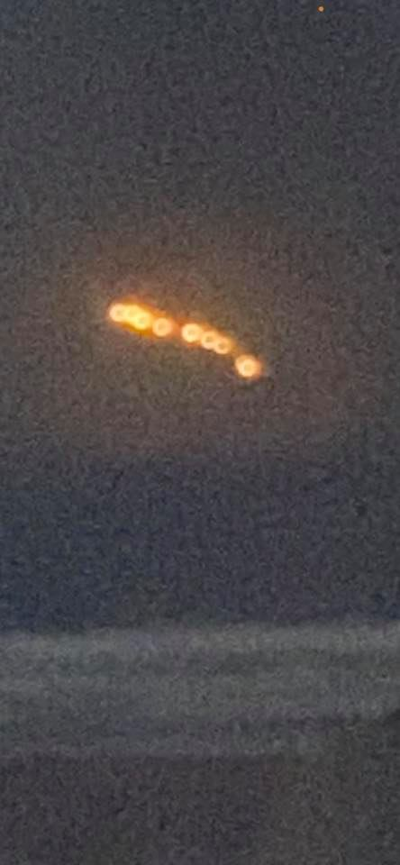 UFOs over the Pacific