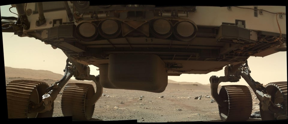 Under the belly of the beast on Sol 21