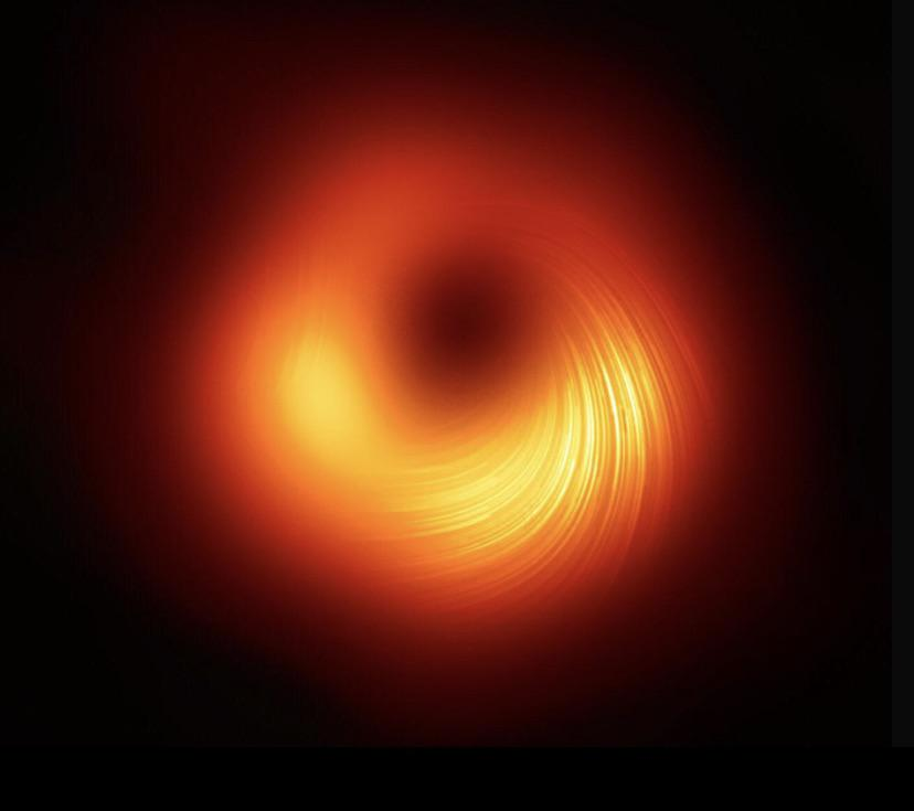 the second ever picture of a black hole was just released