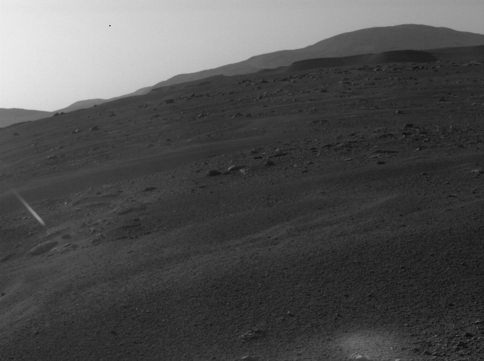 Mars Perseverance Rover Hazcam Images