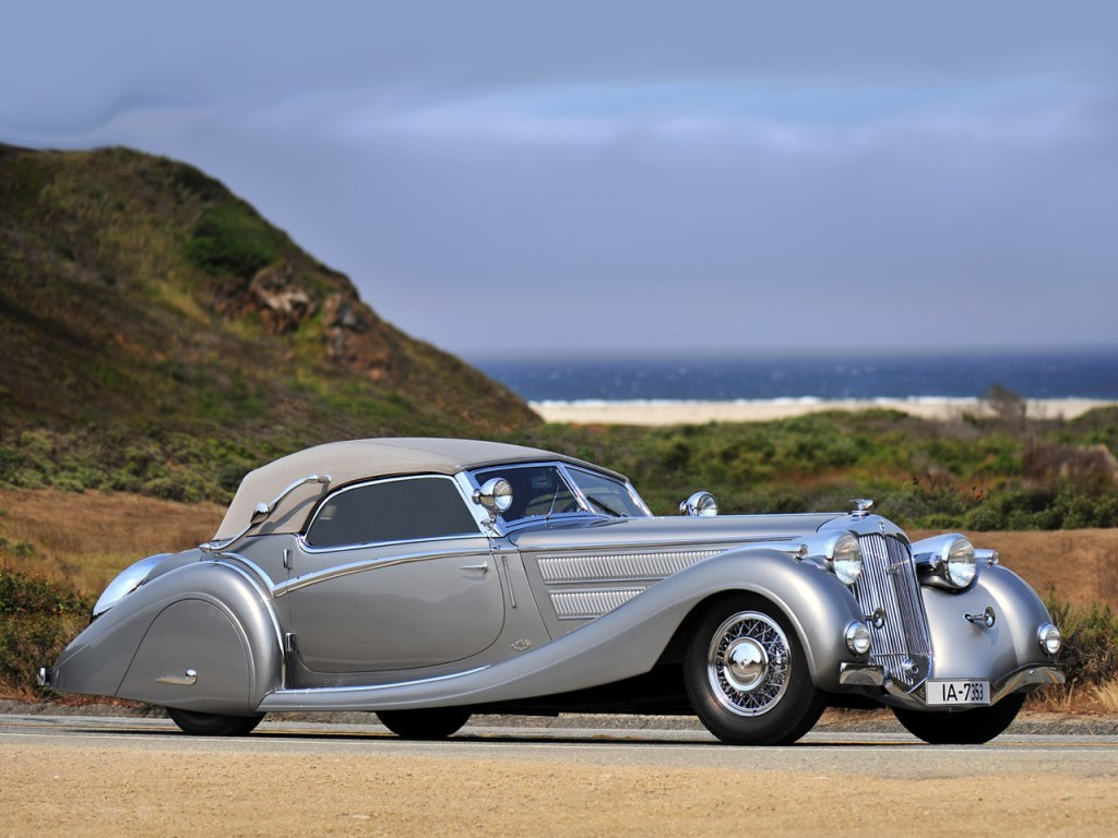 1937 Horch 853 Sport Cabriolet by Voll & Ruhrbeck