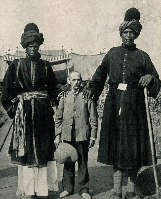 Two guards from Delhi Durbar.