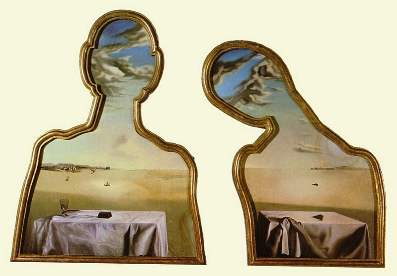 Couple with Their Heads Full of Clouds